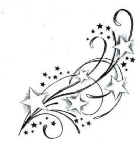 disegno-con-stelle-per-tattoo