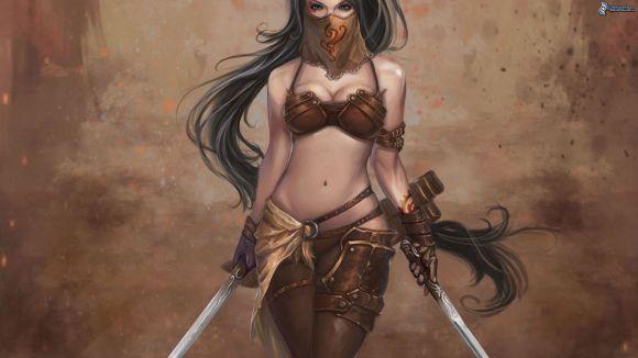 donna-con-una-spada,-guerriera-159366
