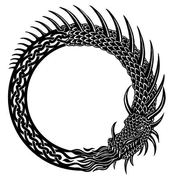 Il Cerchio dell' Età Drago Nero